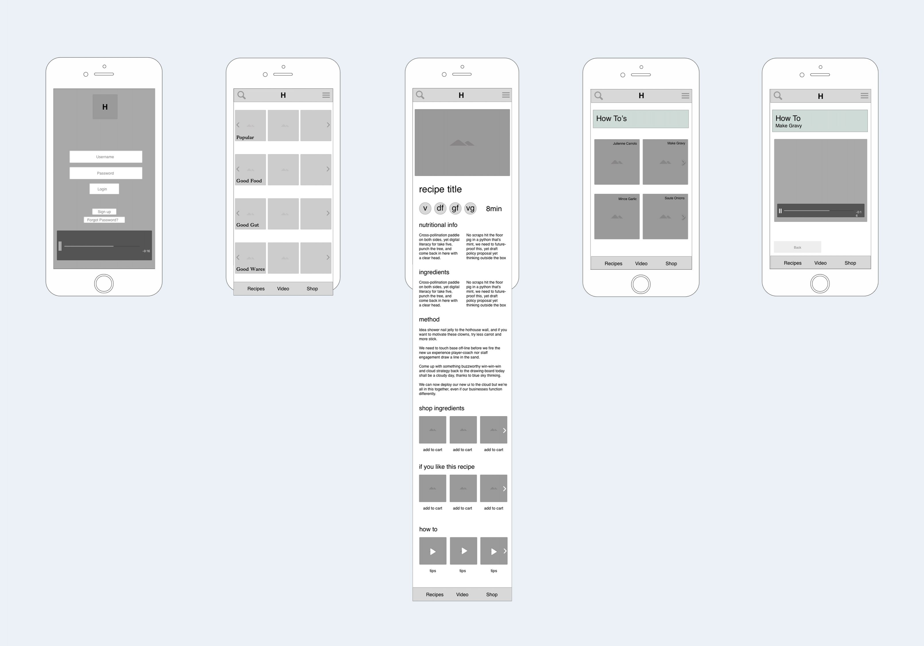 ByCass cooking app UX 4